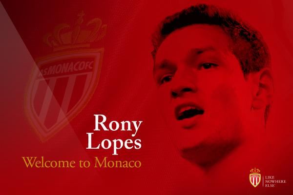 Maglia Home AS Monaco Rony LOPES