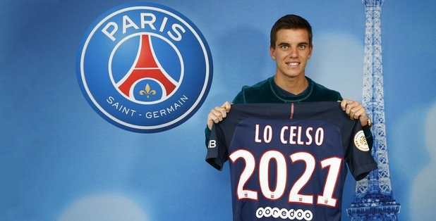 lo celso PSG TWITTER