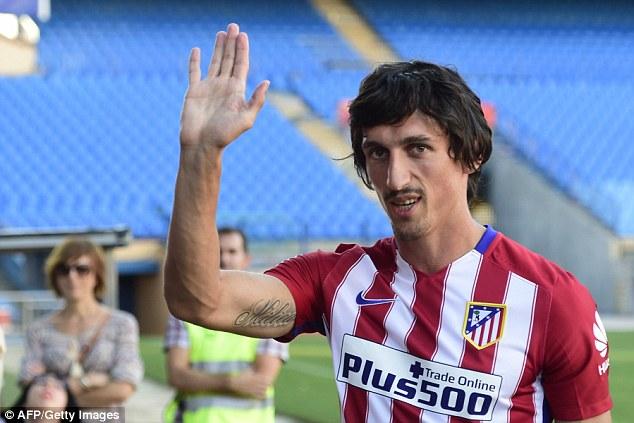 Savic Atletico Madrid dailymailcouk