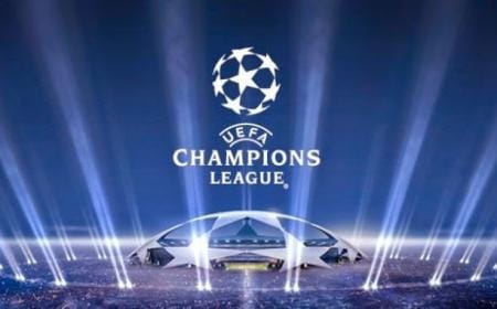 champions league logo luci