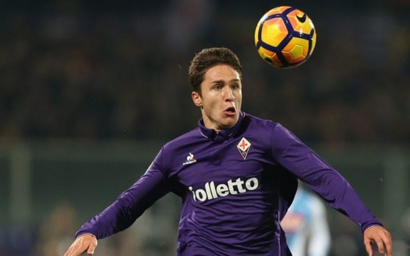 Maglia Home Fiorentina FEDERICO CHIESA