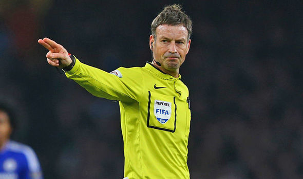 Mark Clattenburg Daily Express