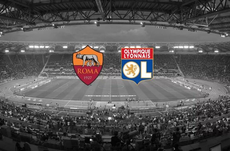 Roma Lione grafica Roma Twitter