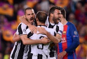 Juventus Twitter Champions League