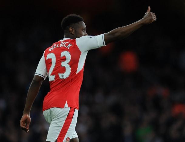 Welbeck 16-17 Arsenal Twitter