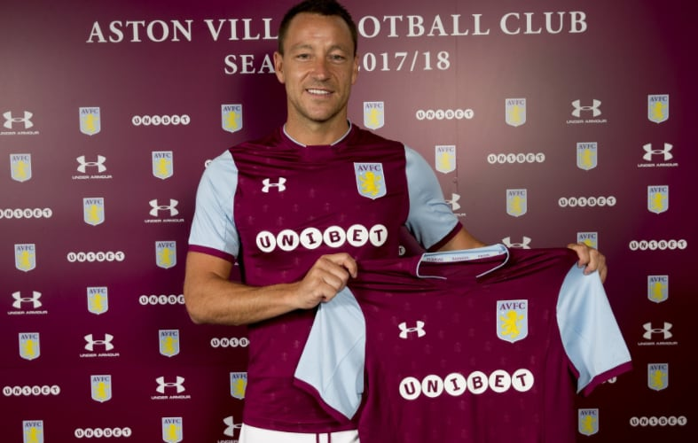 Terry annuncio Aston Villa Twitter
