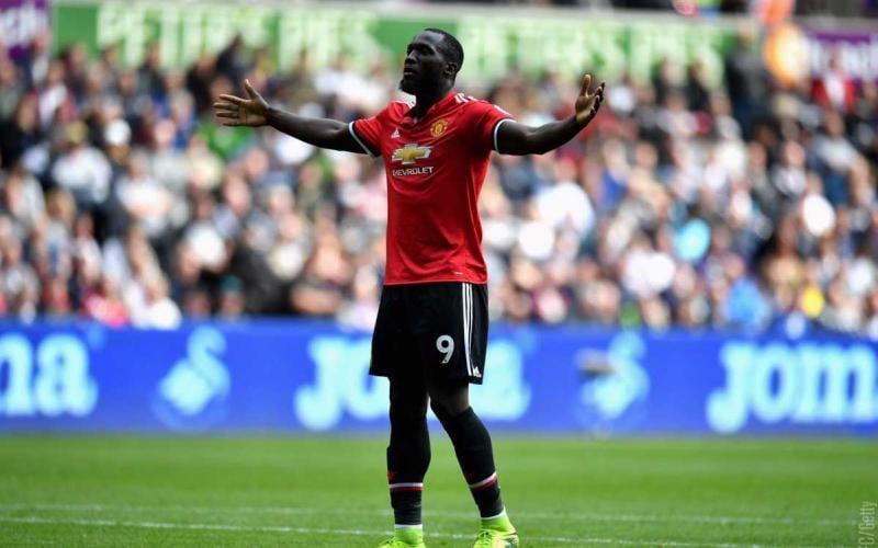 Lukaku esultanza Manchester United Twitter