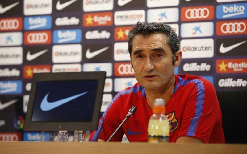 Valverde conferenza Barcellona Twitter