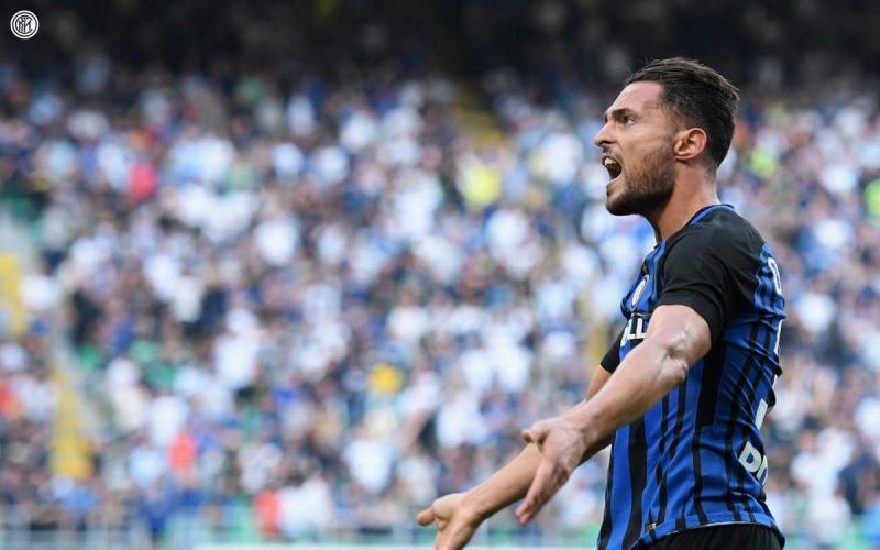 D'Ambrosio esultanza vs Genoa Inter Twitter