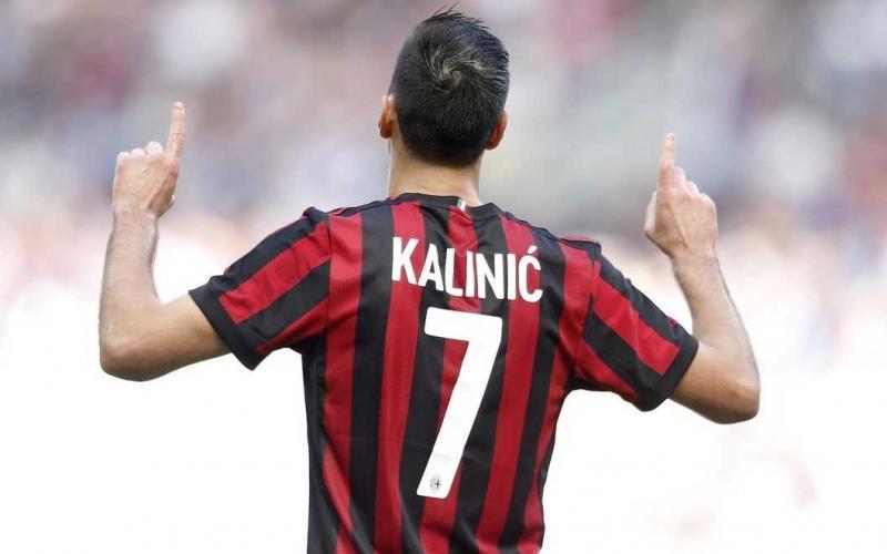 Kalinic gol vs Udinese Foto Milan Twitter
