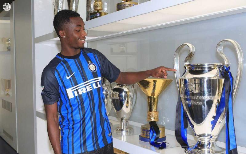 Karamoh Twitter uff Inter