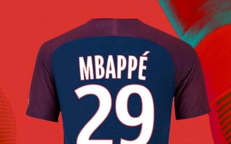 Maglia Home PSG Kylian MBAPPE