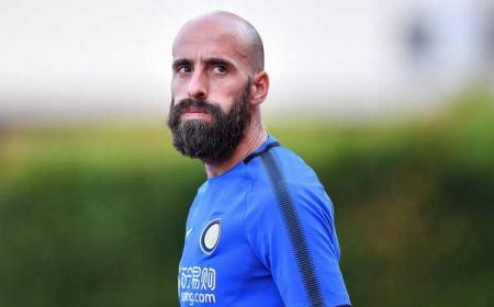 Borja Valero training Inter zimbio