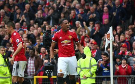 Martial gol vs Tottenham Foto Manchester United Twitter
