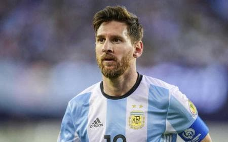 Messi Argentina 17-18 Foto sports illustrated