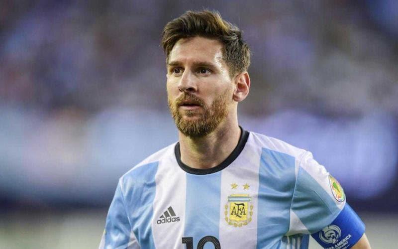 Messi Argentina 17-18 Foto sports illustrated