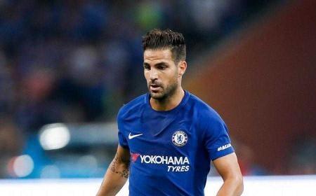Fabregas Cesc Chelsea 17-18 Foto standard