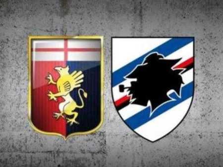Genoa Samp loghi derby sondaggio