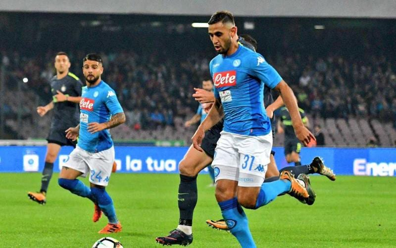 Ghoulam vs Inter Foto Napoli Twitter