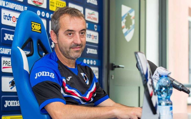 Giampaolo conferenza Sampdoria Twitter