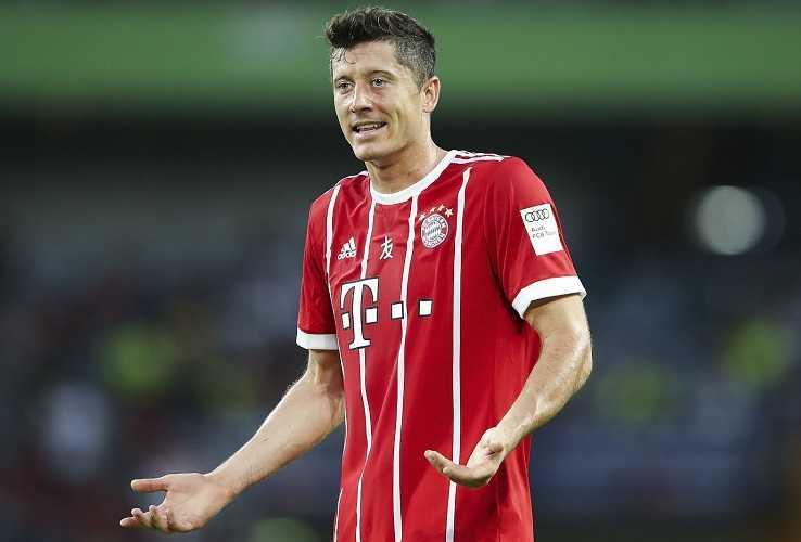 Lewandowski Bayern Monaco Foto paemuka
