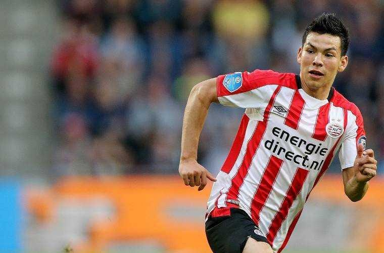 Lozano PSV Foto voetbal international