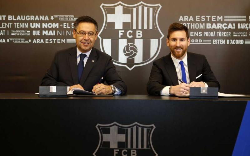 Messi Twitter Barcellona