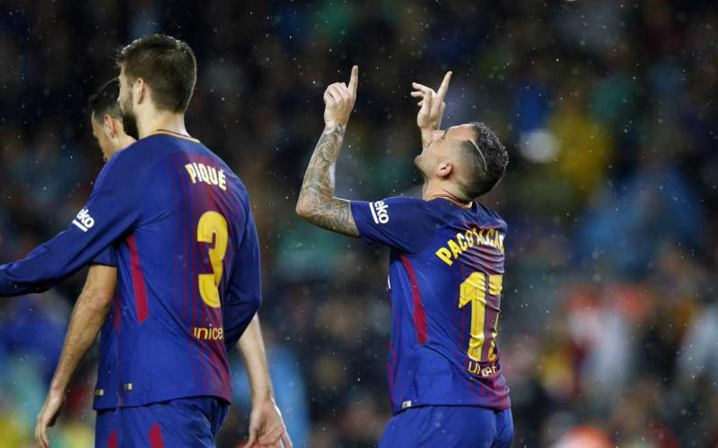 Paco Alcacer Twitter uff Barcellona