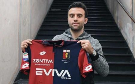 Giuseppe Rossi annunci Genoa Twitter