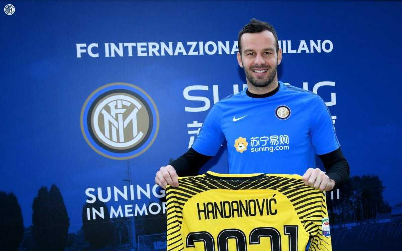 Handanovic rinnovo 2021 Inter Twitter