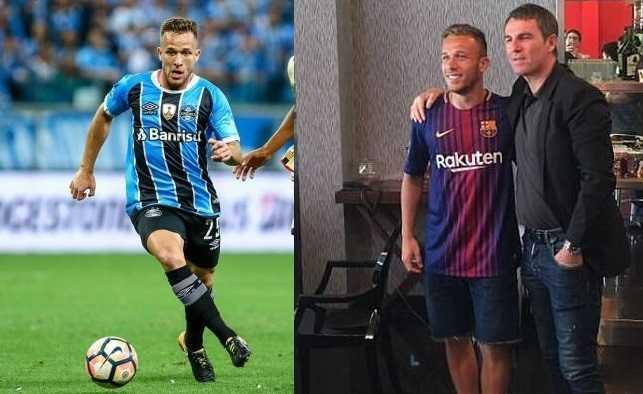 Maglia Home FC Barcelona Arthur