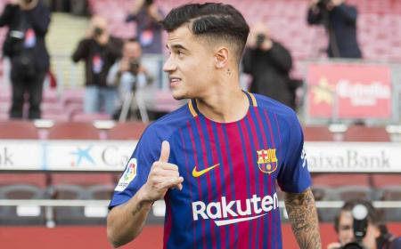 Coutinho primo piano Barcellona Twitter