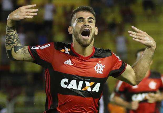 Felipe Vizeu Flamengo Foto Globo Esporte