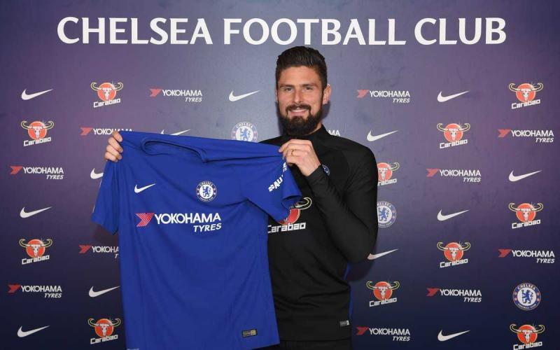 Giroud Twitter Chelsea
