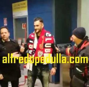 Lykogiannis arrivo tifosi Cagliari