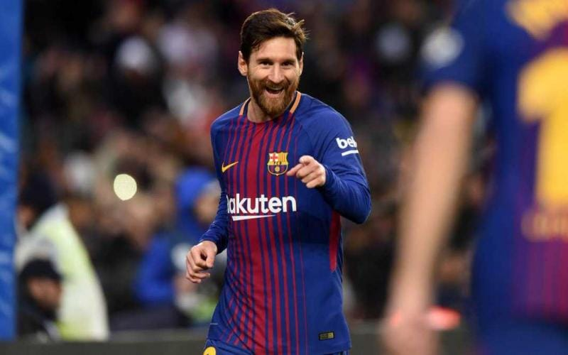 Messi esultanza vs Levante Foto Barcellona Twitter
