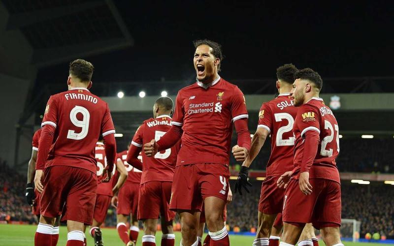 Maglia Home Liverpool Virgil van Dijk