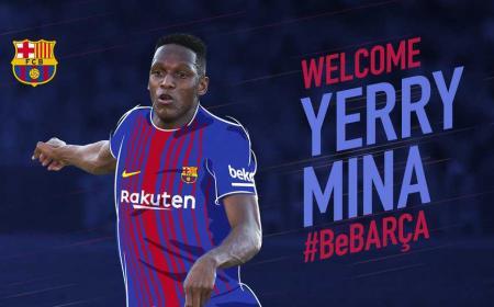 Yerry Mina sito Barcellona