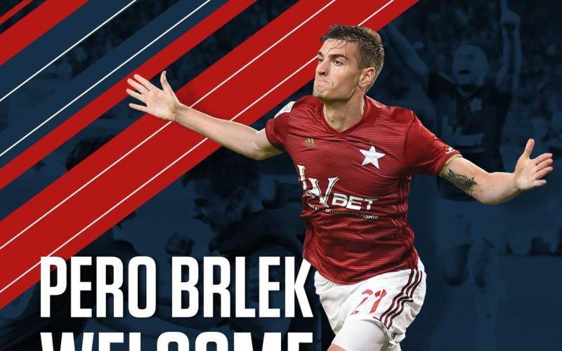 Brlek annuncio Wisla Cracovia Twitter