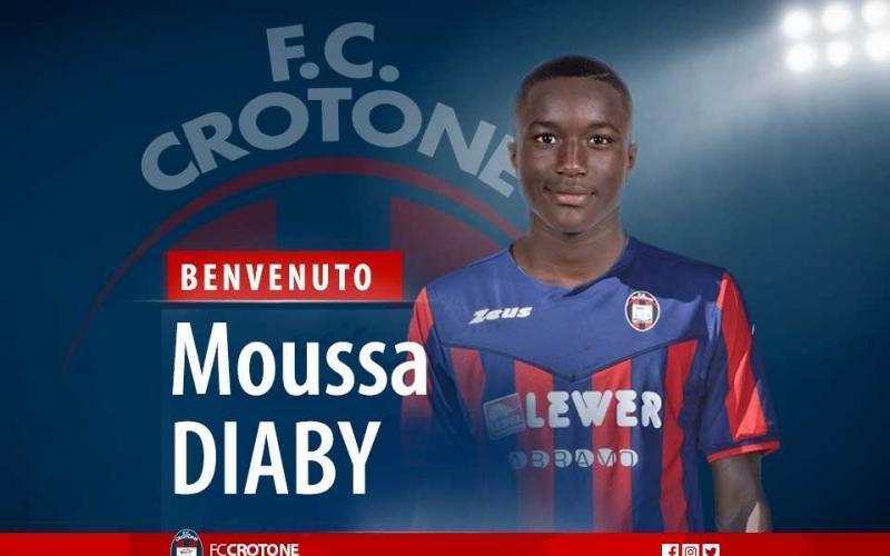 Diaby Moussa Crotone sito ufficiale