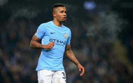 Gabriel Jesus Foto Manchester City Twitter