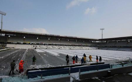Manuzzi Stadio neve Cesena Twitter