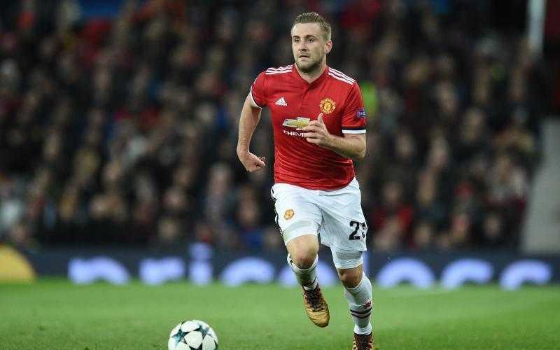 Shaw Manchester United Foto Bleacher Report