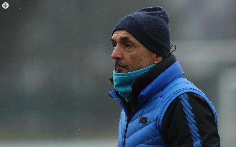 Spalletti training Foto Inter Twitter