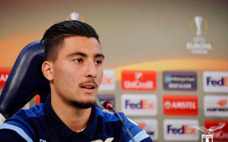 Strakosha conferenza Europa League Lazio Twitter