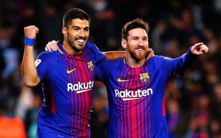Suarez + Messi Twitter uff Liga