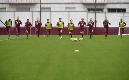 Torino 17-18 training Foto Torino Twitter