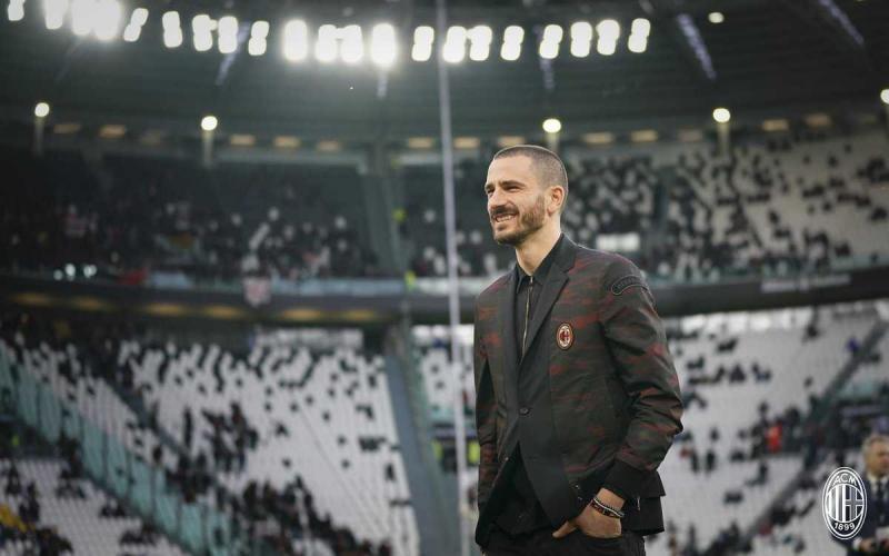 Bonucci Juventus Stadium Foto Milan Twitter