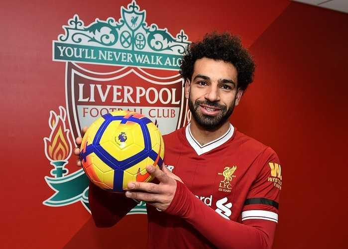 Salah Twitter ufficiale Liverpool