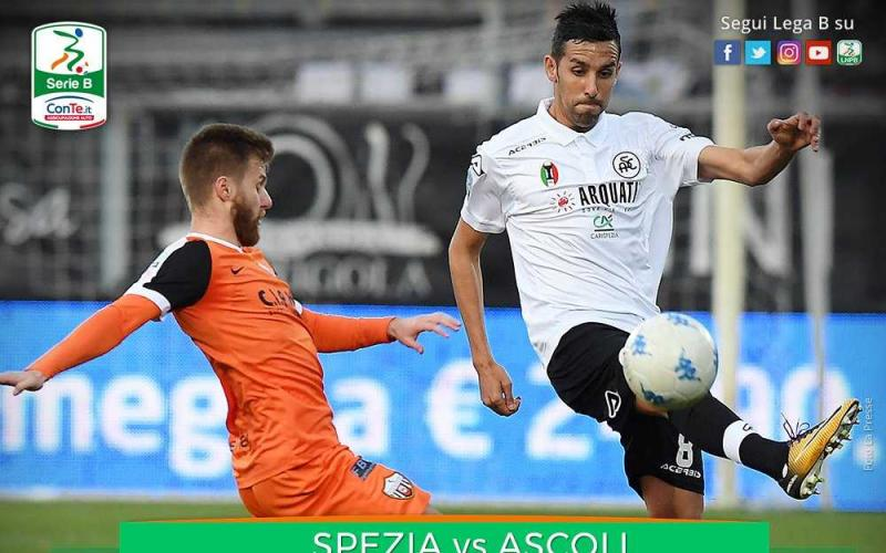 Spezia Ascoli 1-1